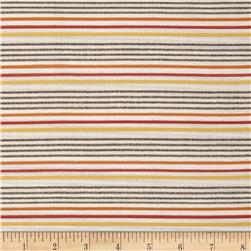 Kaufman Dobby Stripe Cotton Shirting Harvest