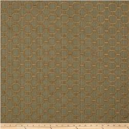 Swavelle/Mill Creek Embroidered Catena Estuary Green