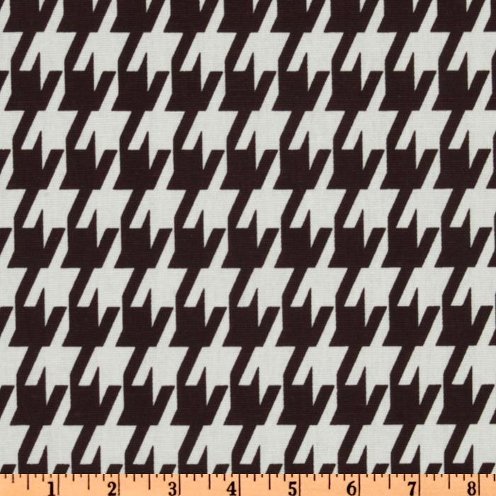 Premier Prints Large Houndstooth Chocolate