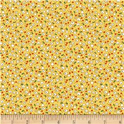 Aunt Grace Simpler Sampler Flower Yellow