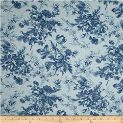 Moda Cold Spell Prints Cold Spell Ice Blue