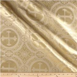 Clergy Brocades White/Gold