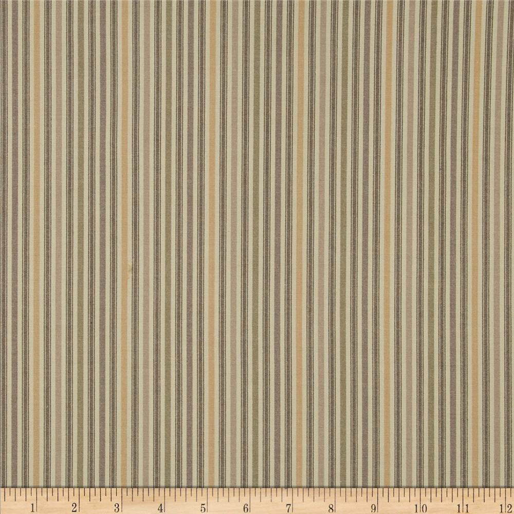 Kaufman Classic Threads Medium Stripe Natural