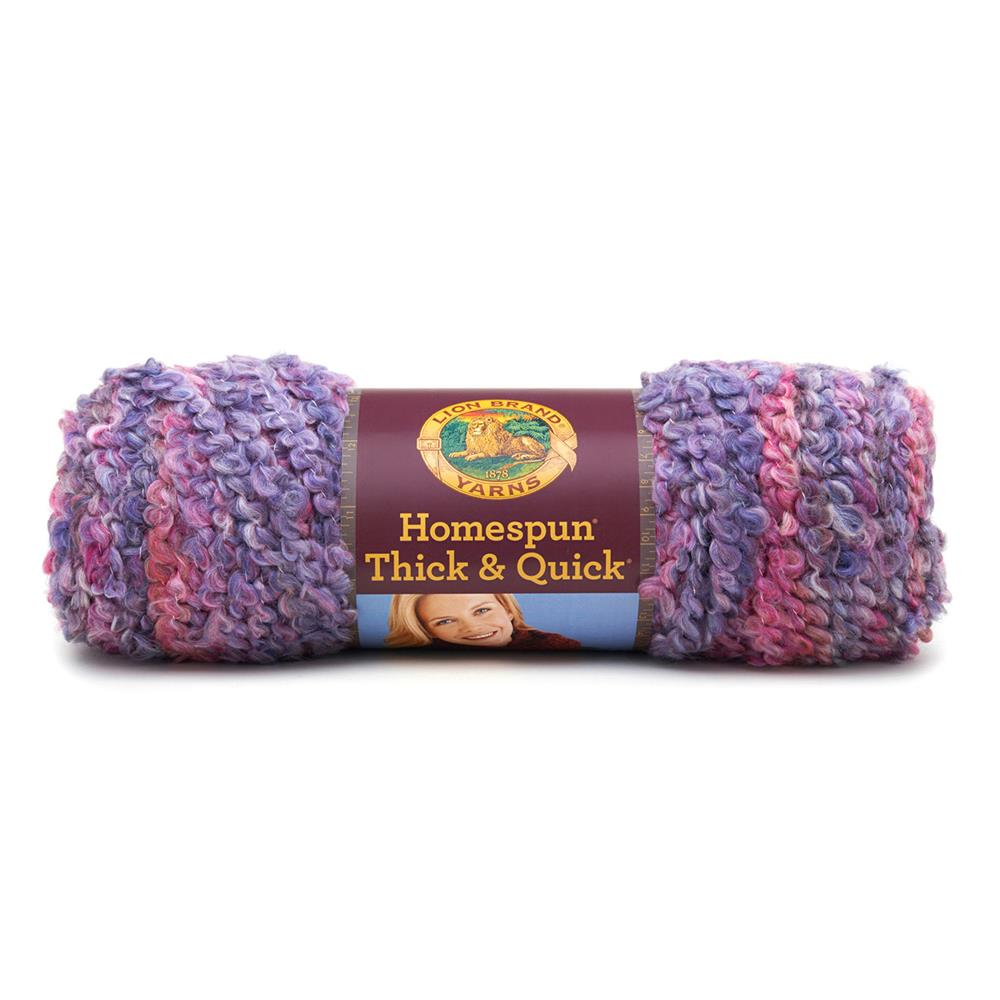 Lion Brand Homespun Thick & Quick Yarn (411)