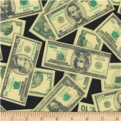 Pleasures & Pastimes Money Black/Green
