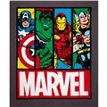 Marvel Comic Avengers Panel Grey/Multi