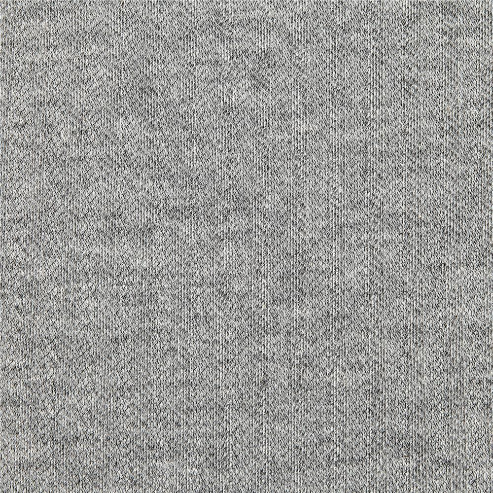 Kaufman Knit Herringbone Heather Gray - Discount Designer Fabric - Fabric.com