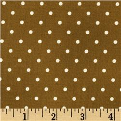 Home Essentials Dots Brown/Cream