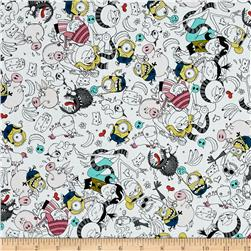 Despicable Me 3 Best Family Ever Packed Graphic Characters White