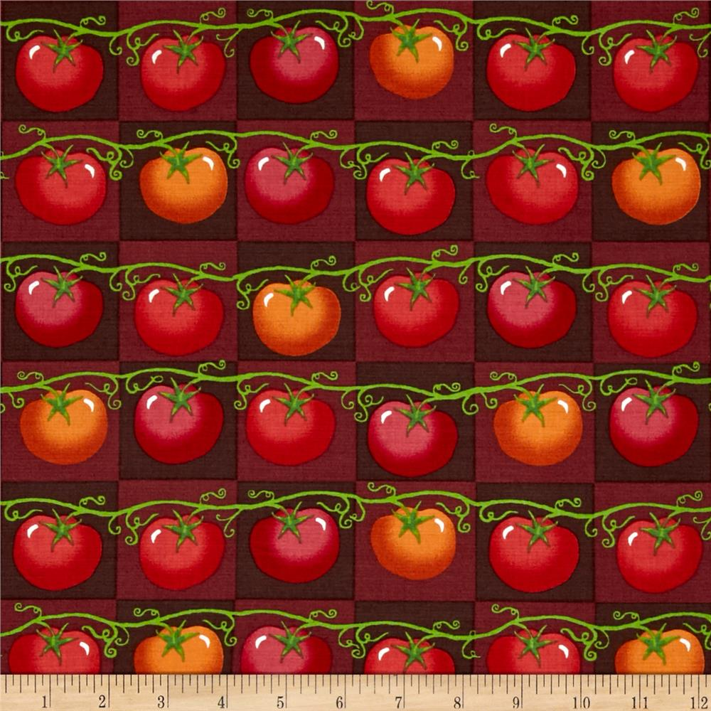 Lush Harvest Tomatoes Red