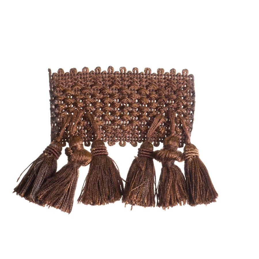 "Trend 2.75"" 01746 Fringe Chocolate"