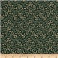 Reproduction Calico Dark Green