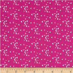 Moda Spectrum Triangles Magenta