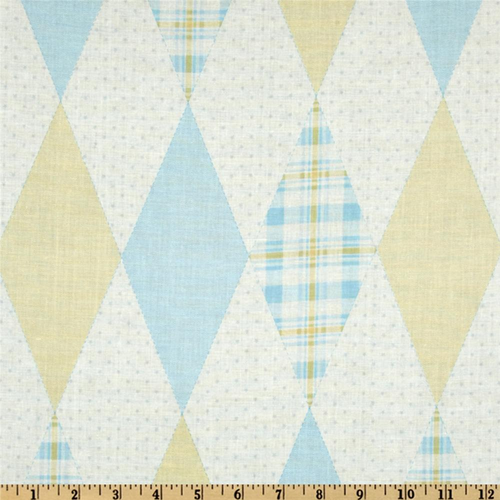 Baby Business Argyle Yellow/Blue