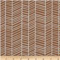 Joel Dewberry True Colors Herringbone Maple