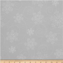 Kimberbell's Merry & Bright Snowflakes Grey
