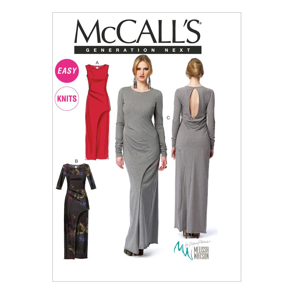 McCall's Misses' Dresses Pattern M6791 Size AX5