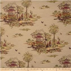 Lillian August Tea Ceremony Jacquard Heather Rose