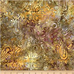 Artisan Batiks Regal Abstract Paisley Bronze