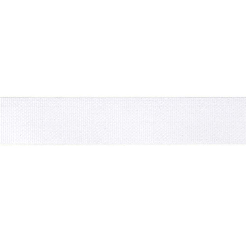 "5/8"" Faux Canvas Ribbon White"