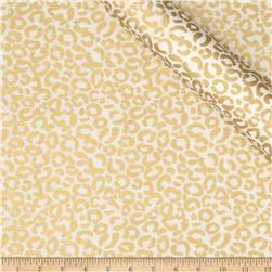 Jackie Heavy Metal Collection Cheetah Metallic Gold