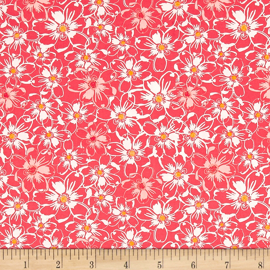 Image of Art Gallery Abloom Fusion Bed Of Daisies Abloom Fabric