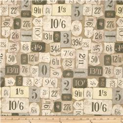 Tim Holtz Eclectic Elements Mercantile Green