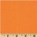 Moda Dottie Tiny Dots Orange