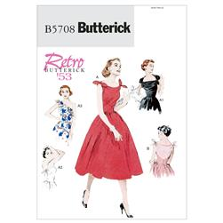 Butterick Misses' Dress Pattern B5708 Size A50