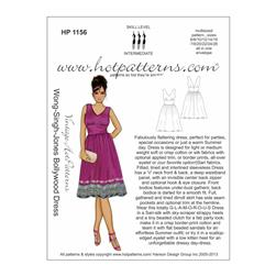 Hot Patterns Vintage WSJ Bollywood Dress Pattern
