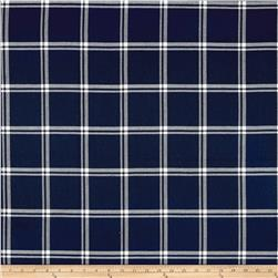 Waverly Bloomsbury Plaid Twill Marine