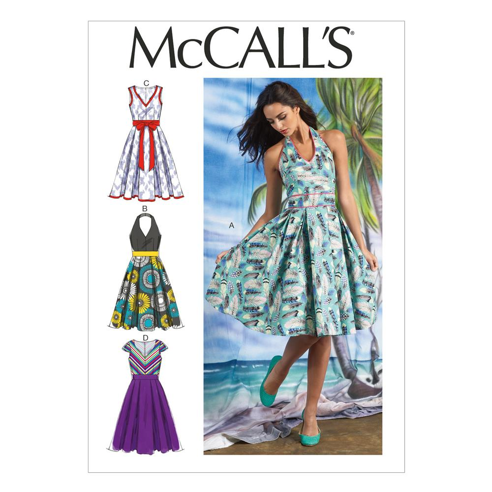 McCall's Misses' Dresses Pattern M6745 Size A50