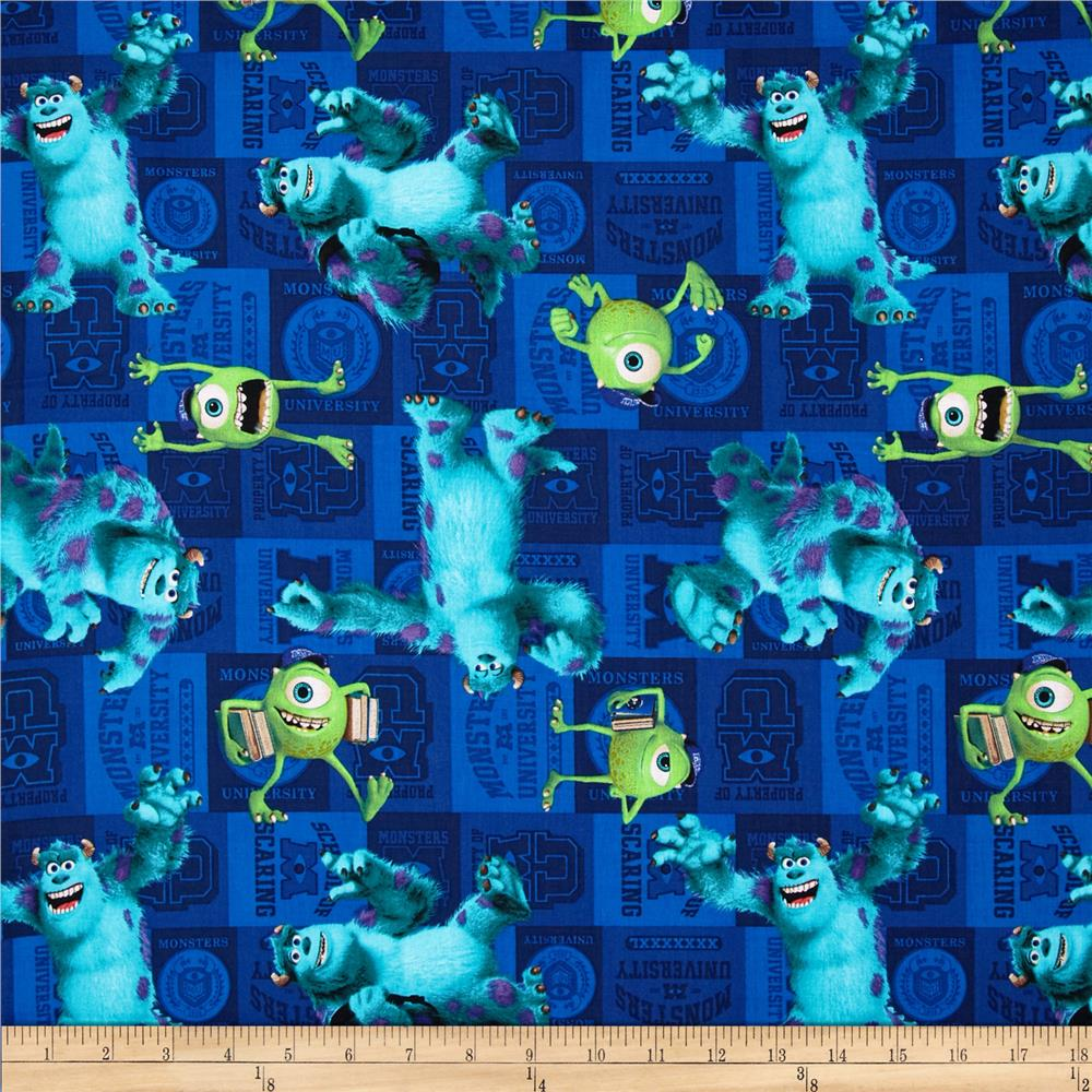 Disney Monster University Mike & Sully Toss Blue