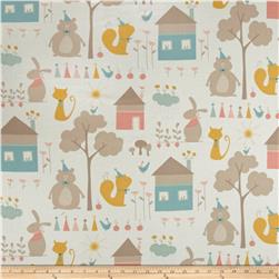 Moda Corner of 5th & Fun Play Day Flannel Ivory