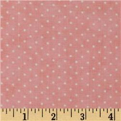 Moda Essential Dots (# 8654-21) Pink Fabric