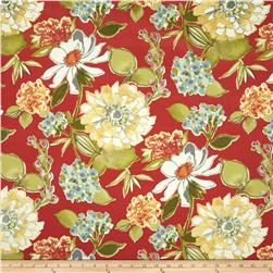 Swavelle/Mill Creek Indoor/Outdoor Pierette Vermillion Fabric