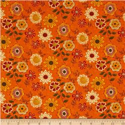 Moda Beauty-Fall Flowers Pumpkin