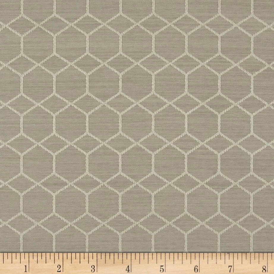BrightOUT Blackout Drapery Quest Concrete Fabric