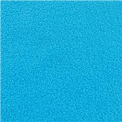 Winterfleece Velour Electric Blue Fabric