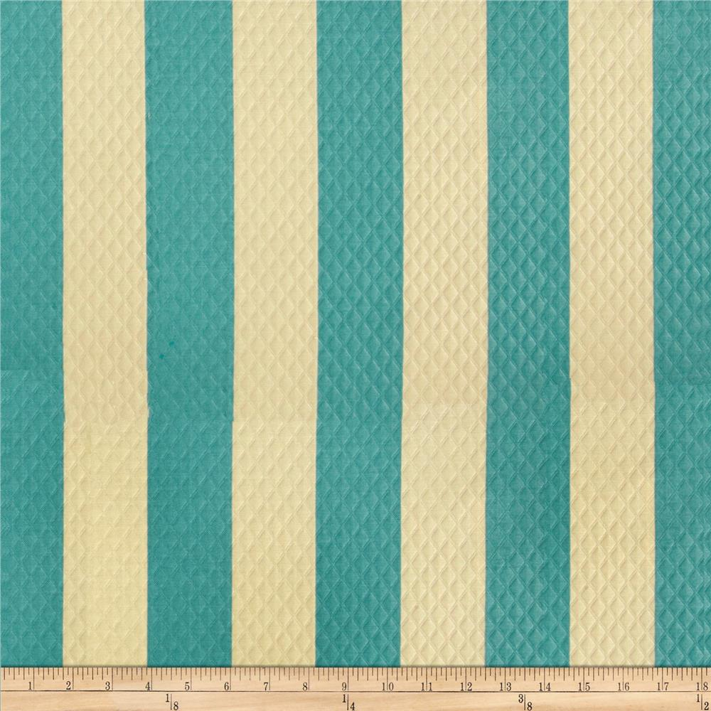 Waverly Sun N Shade Quilted Solstice Stripe Pool