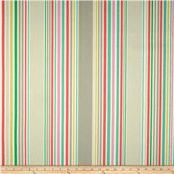 P Kaufmann Nautical Stripe Twill Zinc Fabric