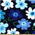 WinterFleece Pop Floral Navy