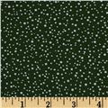 Downton Abbey Christmas Metallic Pearl Snow Green