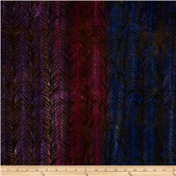 Artisan Batiks Elementals Horizontal Feather Hyacinth