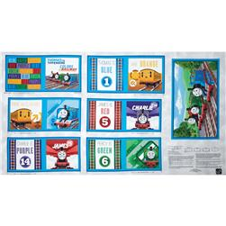 Thomas & Friends The Color Express Color of the Rail Soft Book Panel Multi