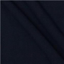 Stretch Rayon Poly Jersey Knit Darkest Navy