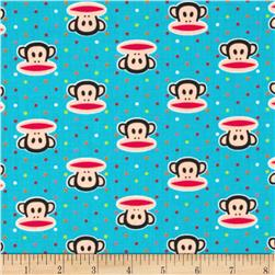 Paul Frank Julius & Dots Blue Fabric