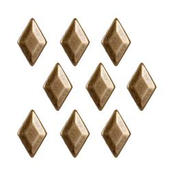 Brass Dome Diamond 24pc