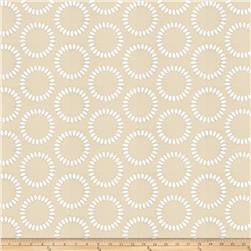 Keller Sansa Circles Cut Satin Pebble