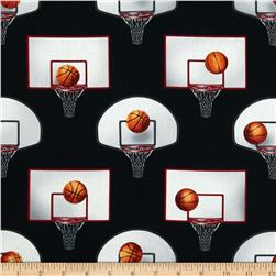 Sports Life 3 Basketball Gear Black Fabric